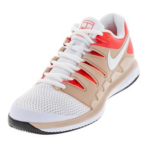 Men`s Air Zoom Vapor X Tennis Shoes Bio Beige and White