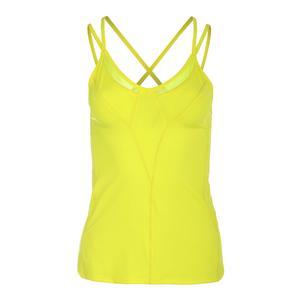 Women`s Strappy Tennis Tank Yellow