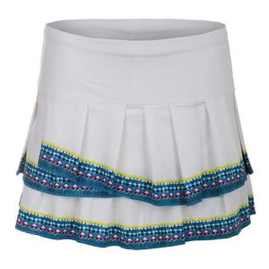 Women`s Bohemian Pleat Tennis Skort