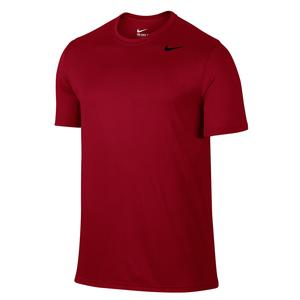 Men`s Dry Training Tee Gym Red and Black
