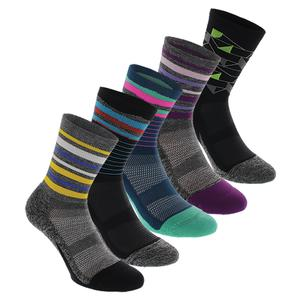 Elite Light Cushion Mini Crew Tennis Socks