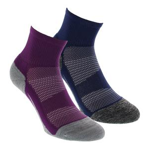 Elite Light Cushion Quarter Tennis Socks