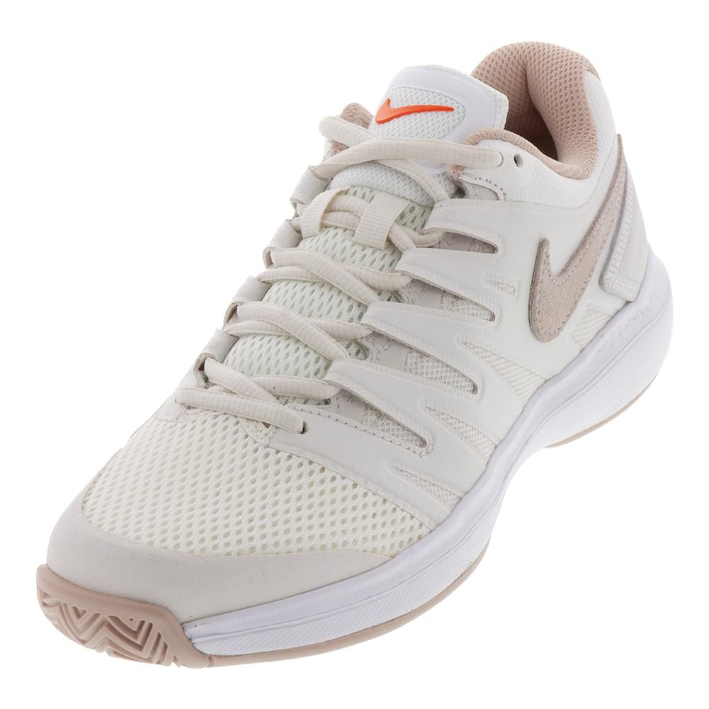 d1b80ec17d15 Nike Women s Air Zoom Prestige Tennis Shoes Phantom and Particle Beige
