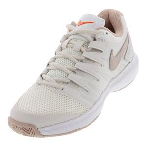 Women`s Air Zoom Prestige Tennis Shoes Phantom and Particle Beige