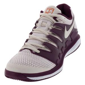 Women`s Air Zoom Vapor X Tennis Shoes Bordeaux and Phantom