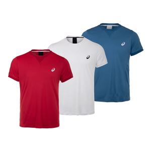 Men`s Short Sleeve Tennis Top