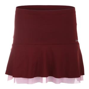 Women`s Breeze Tennis Skort Rust