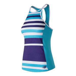 Women`s Printed Rally Tennis Tank Polaris