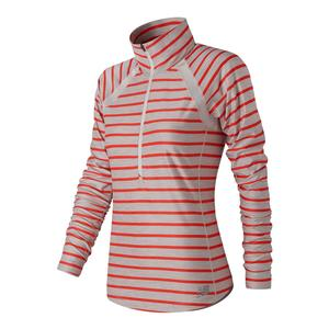 Women`s Novelty Anticipate Half Zip Tennis Top