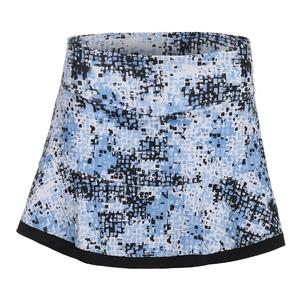 Women`s High Resolution Tennis Skort Print