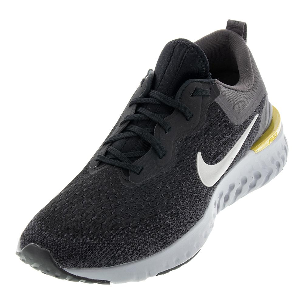 0e9ab0d6f1f10 Men s Odyssey React Running Shoes Black And Metallic Pewter. Zoom. Hover to  zoom click to enlarge