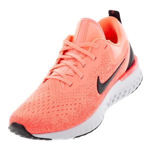Women`s Odyssey React Running Shoes Light Atomic Pink and Black
