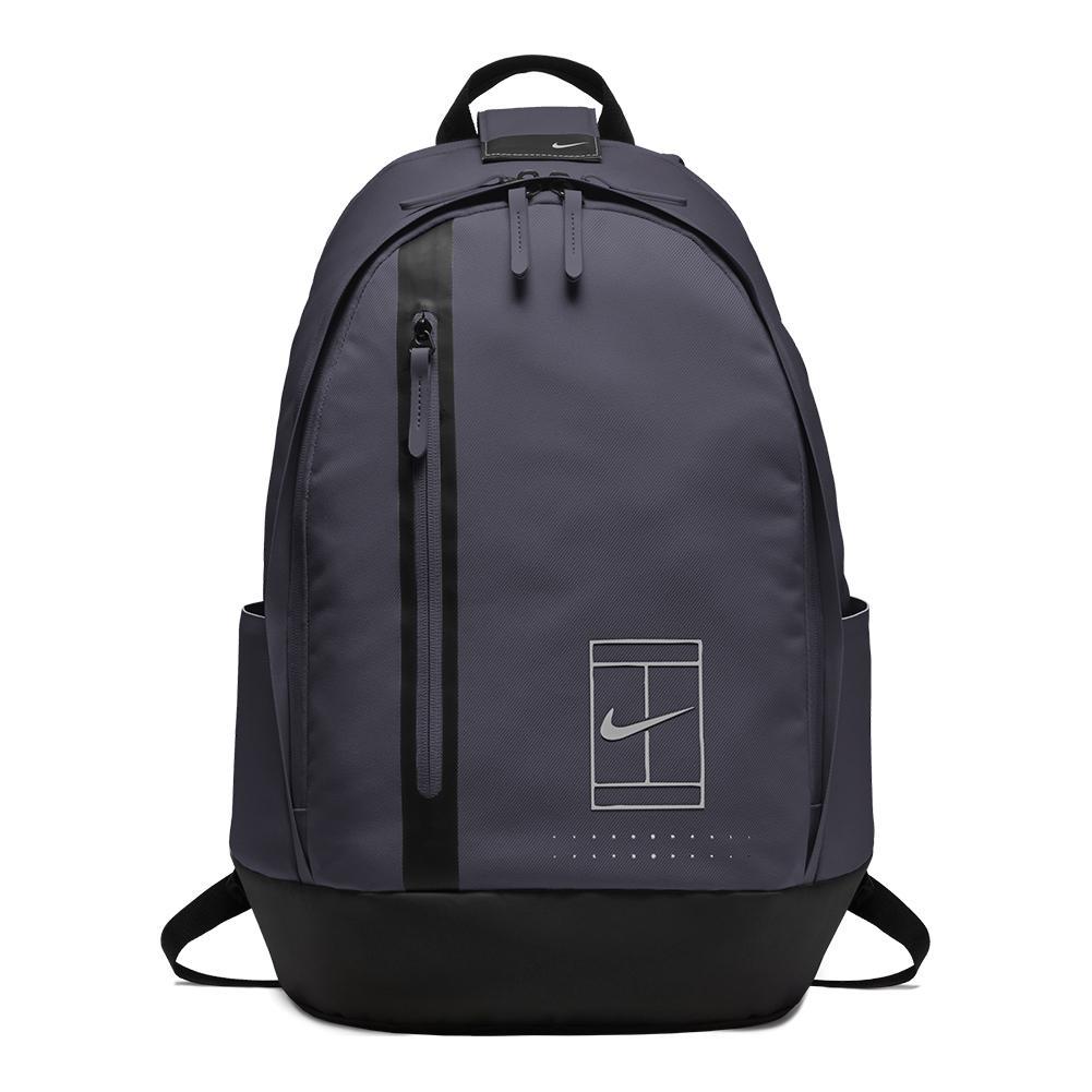 NIKE NIKE Court Advantage Tennis Backpack Gridiron And Black. Zoom 703fd76fb12ea