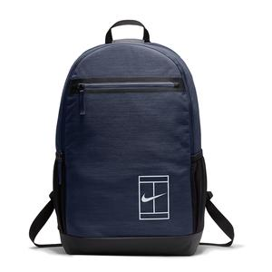 Court Tennis Backpack Midnight Navy and Black
