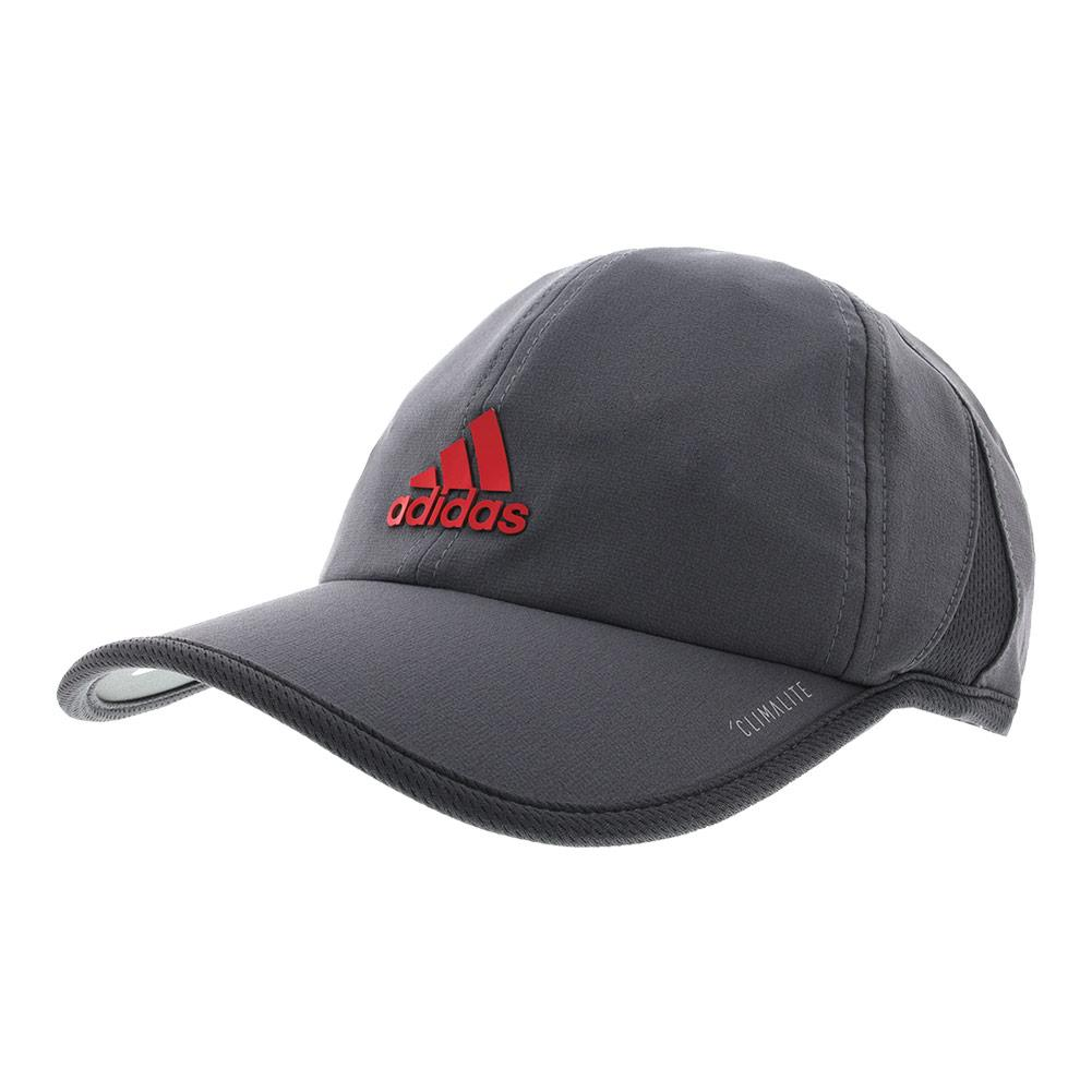 Men's Superlite Tennis Cap Onix And Dark Gray