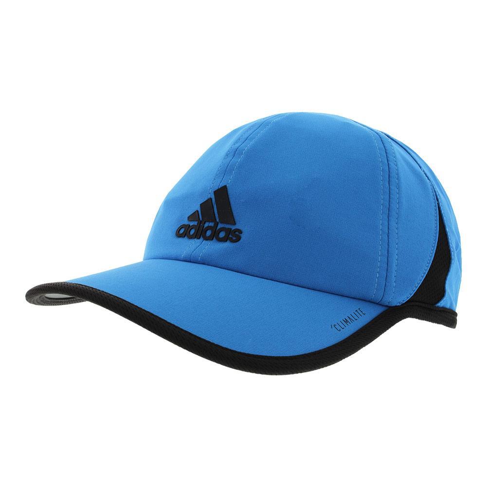 Men's Superlite Tennis Cap Bright Blue And Black