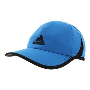 Men`s SuperLite Tennis Cap Bright Blue and Black