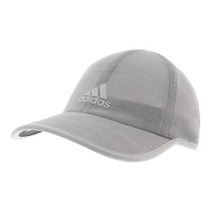 Men`s Superlite Prime II Tennis Cap White and Clear Gray