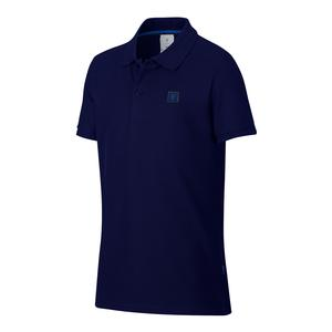 Boys` Roger Federer Essential Tennis Polo Blue Void