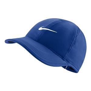 1e600c91f70 SALE Women`s Court AeroBill Featherlight Tennis Cap Game Royal Nike ...