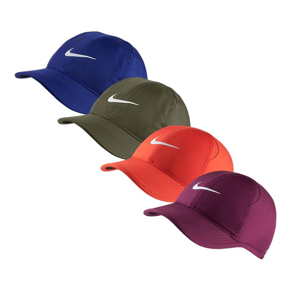 d682376fab1973 Nike Women's Court AeroBill Featherlight Tennis Cap