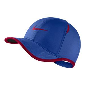 Young Athletes` AeroBill Featherlight Tennis Cap Game Royal