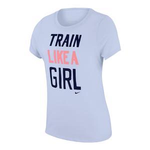 Girls` Dry Train Like a Girl Tee
