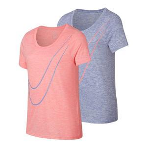 Girls` Dry Victory Veneer Short Sleeve Top