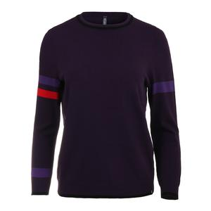 Women`s Strike Tennis Sweater Boysenberry and Violet