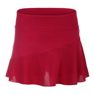 Women`s Multi Panel 13 Inch Tennis Skort Crimson