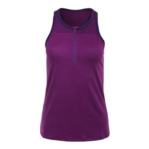 Women`s Snap Tennis Tank Violet