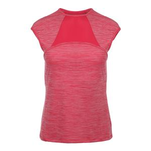 Women`s Endurance Tennis Top Poppy Heather