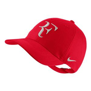 Men`s Court AeroBill H86 Heritage Tennis Cap University Red