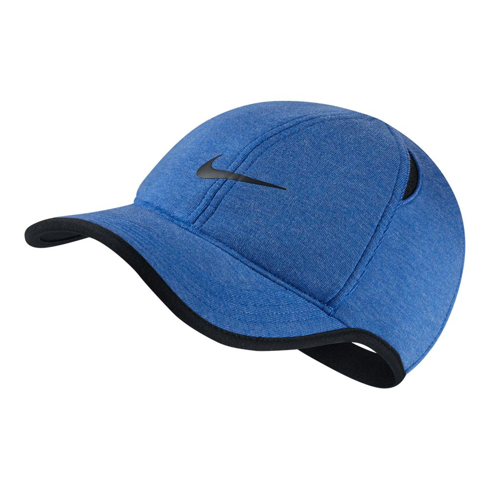 c0006d7e1b8 NIKE NIKE Aerobill Featherlight Premium Tennis Cap Light Game Royal  Heather. Zoom