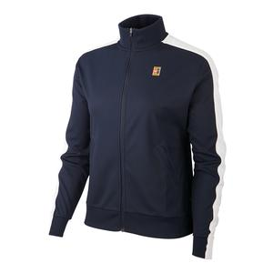 Women`s Court Warm Up Tennis Jacket Obsidian