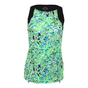 Women`s Painter`s Palette Tennis Tank Print