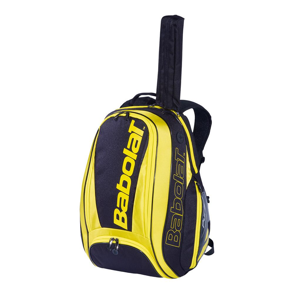 2019 Pure Tennis Backpack Yellow And Black