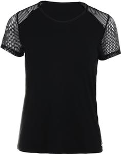 Women`s Faith Tennis Shirt Black