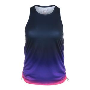 Women`s Soleil Cinch Tennis Tank Ultraviolet