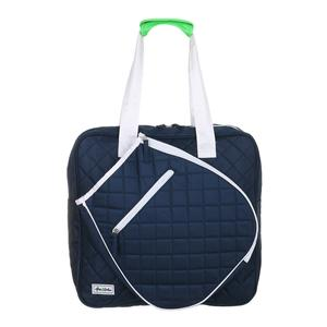 Women`s Sweet Shot Tennis Tote Navy and White