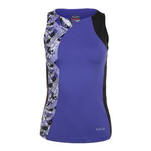Women`s Purple Passion Tennis Tank Violet and Print