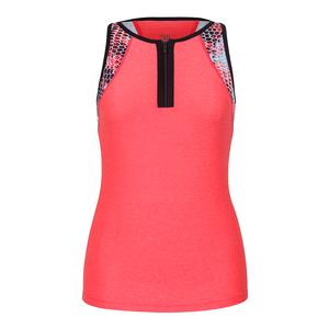 Women`s Priscilla Tennis Top Laser Pink