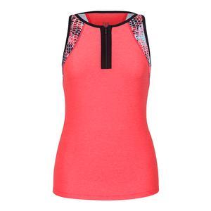 Women`s Priscilla Tennis Top Laser Pink