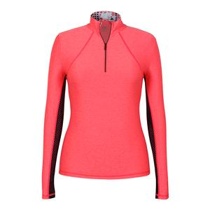 Women`s Chase Long Sleeve Tennis Top Laser Pink