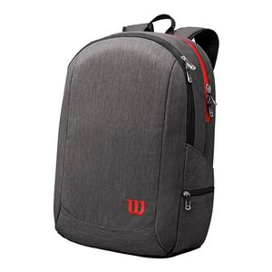 Traveler Tennis Backpack Gray and Red