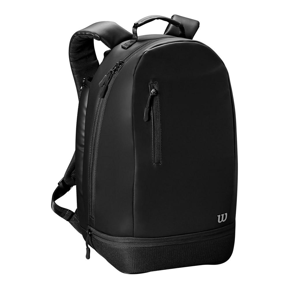 Women's Minimalist Tennis Backpack Black