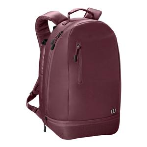 Women`s Minimalist Tennis Backpack Purple