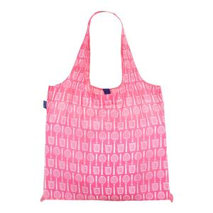 Wimbledon Pink Reusable Bag In Pouch