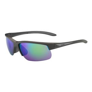 Breaker Sunglasses Matte Anthracite Grey and Brown Emerald