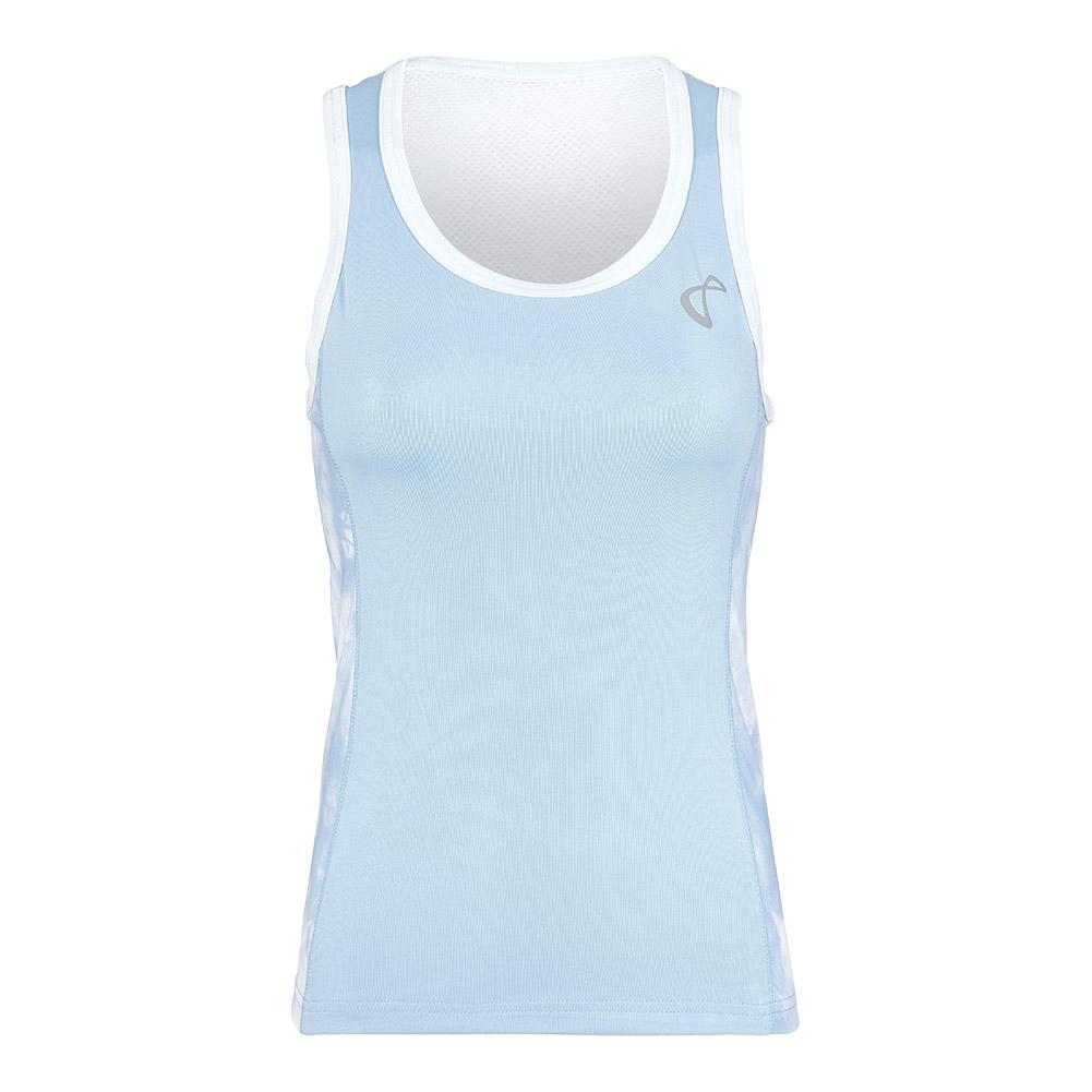Women's Tye Dye Breeze Tennis Tank Arctic